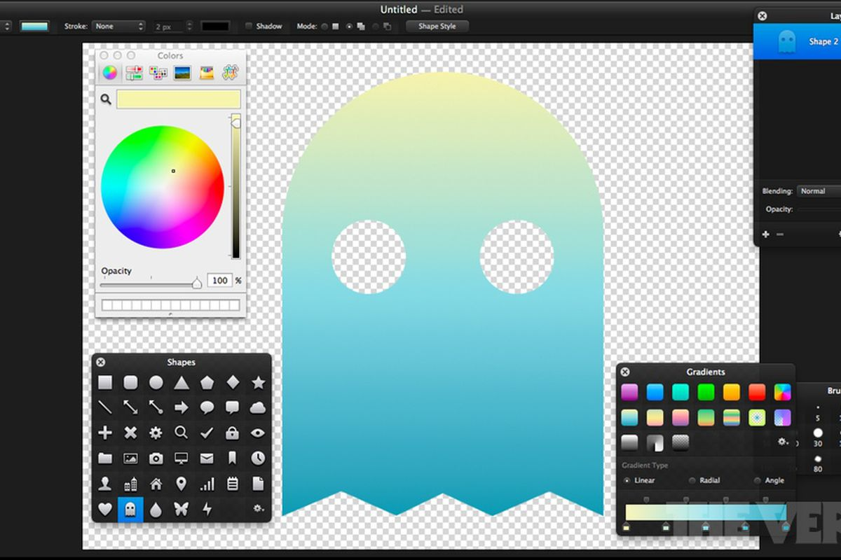 Pixelmator 2 2 goes after graphic design with new shape tools and