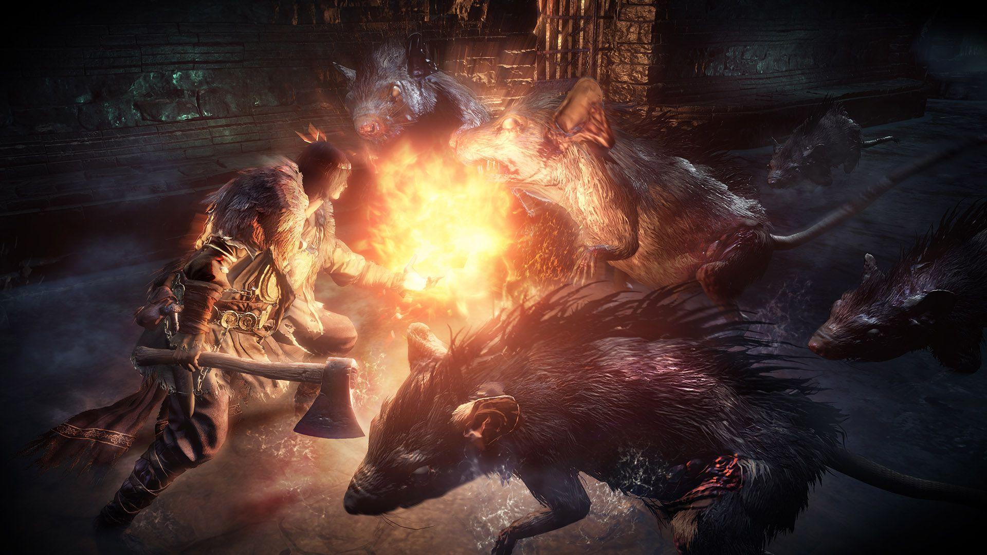 Dark Souls 3 screen