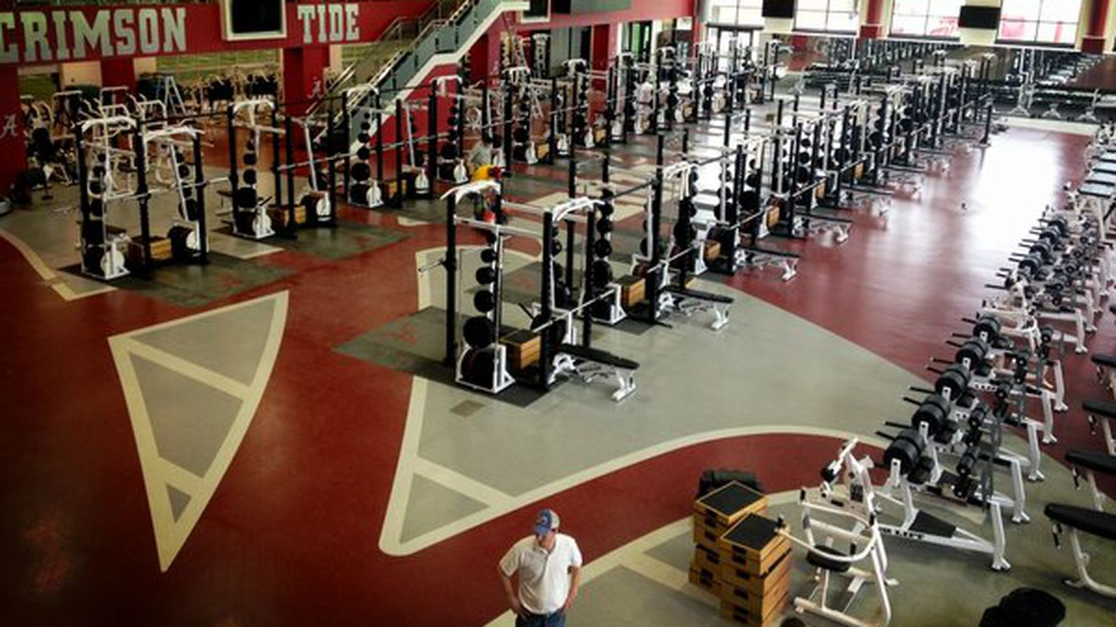 Alabamas New Weight Room Is Indeed Insane