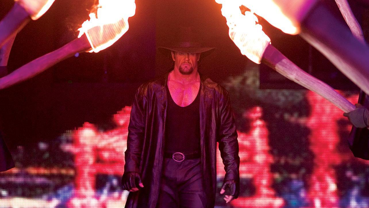 Undertaker entrance WWE