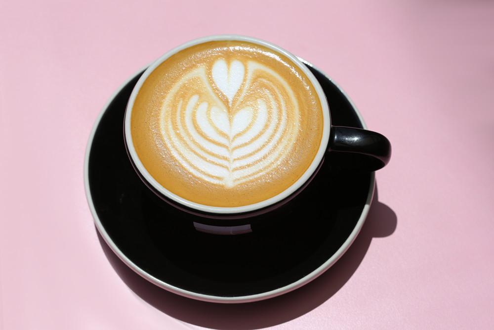 Latte at Cafe Réveille
