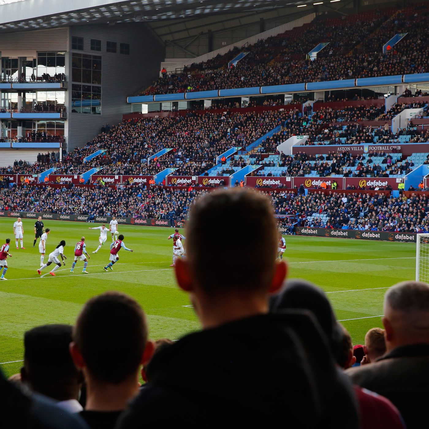 Aston Villa Adding More Disabled Seating Isn T Just The Right Thing It S A Legal Obligation 7500 To Holte