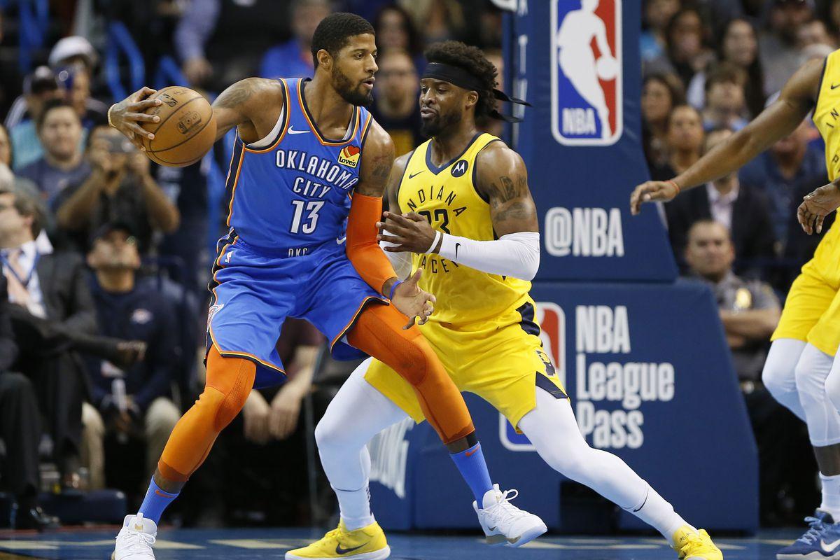 NBA: Indiana Pacers at Oklahoma City Thunder