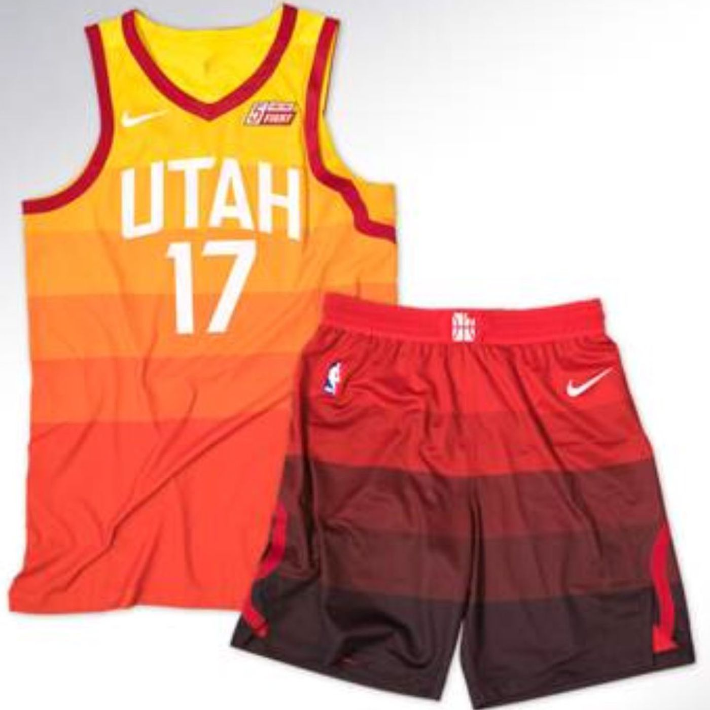 purchase cheap 03ae3 f9d39 New Utah Jazz uniforms pay homage to Utah's sunset and have ...
