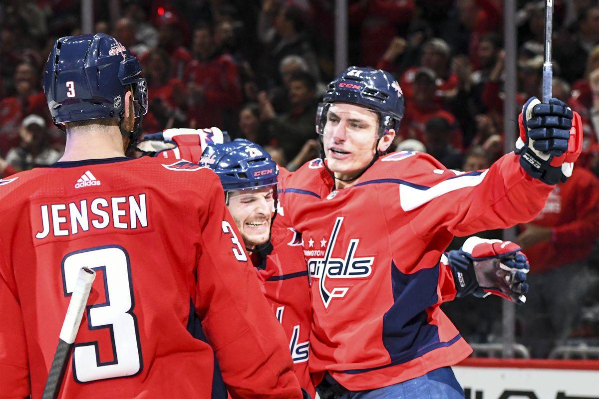 NHL: FEB 25 Jets at Capitals