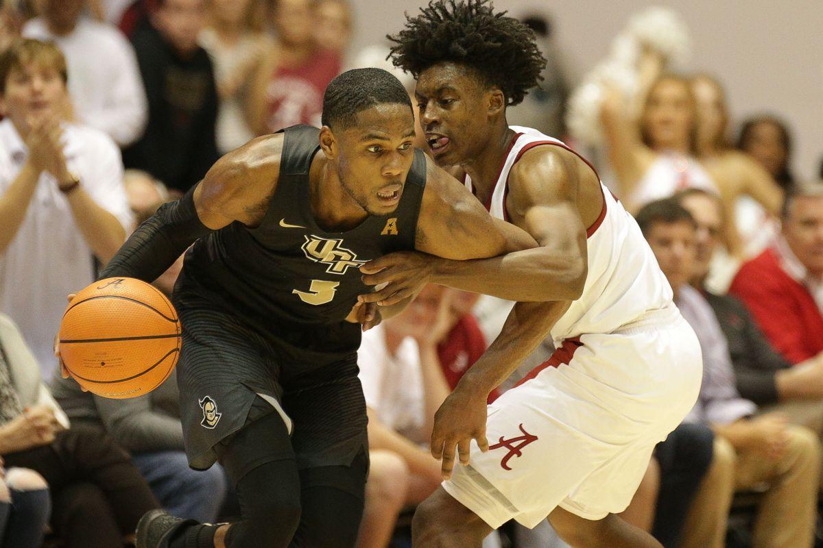 NCAA Basketball: Central Florida at Alabama
