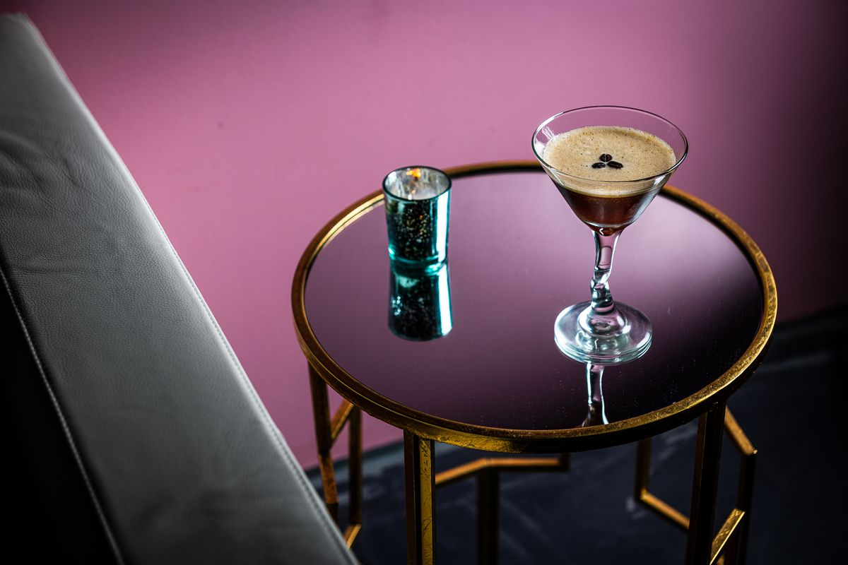 """Australia's cold brew coffee liqueur Mr. Black beat out over a dozen options for Never Looked Better's espresso martini (""""a silky pick-me-up"""")."""