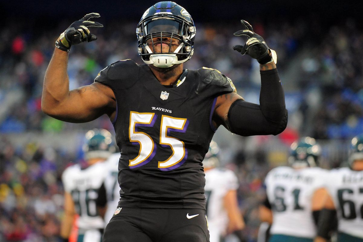 Will Terrell Suggs rush from the interior next season for the