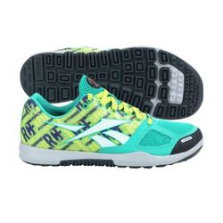 "<b>Reebok</b> <a href=""http://www.dickssportinggoods.com/product/index.jsp?productId=20482916&ab=TopNav_Footwear_WomensFootwear_CrossTraining&cp=4413987.4417990"">CrossFit Nano 2.0 Training Shoe</a> in Teal, $109.99"