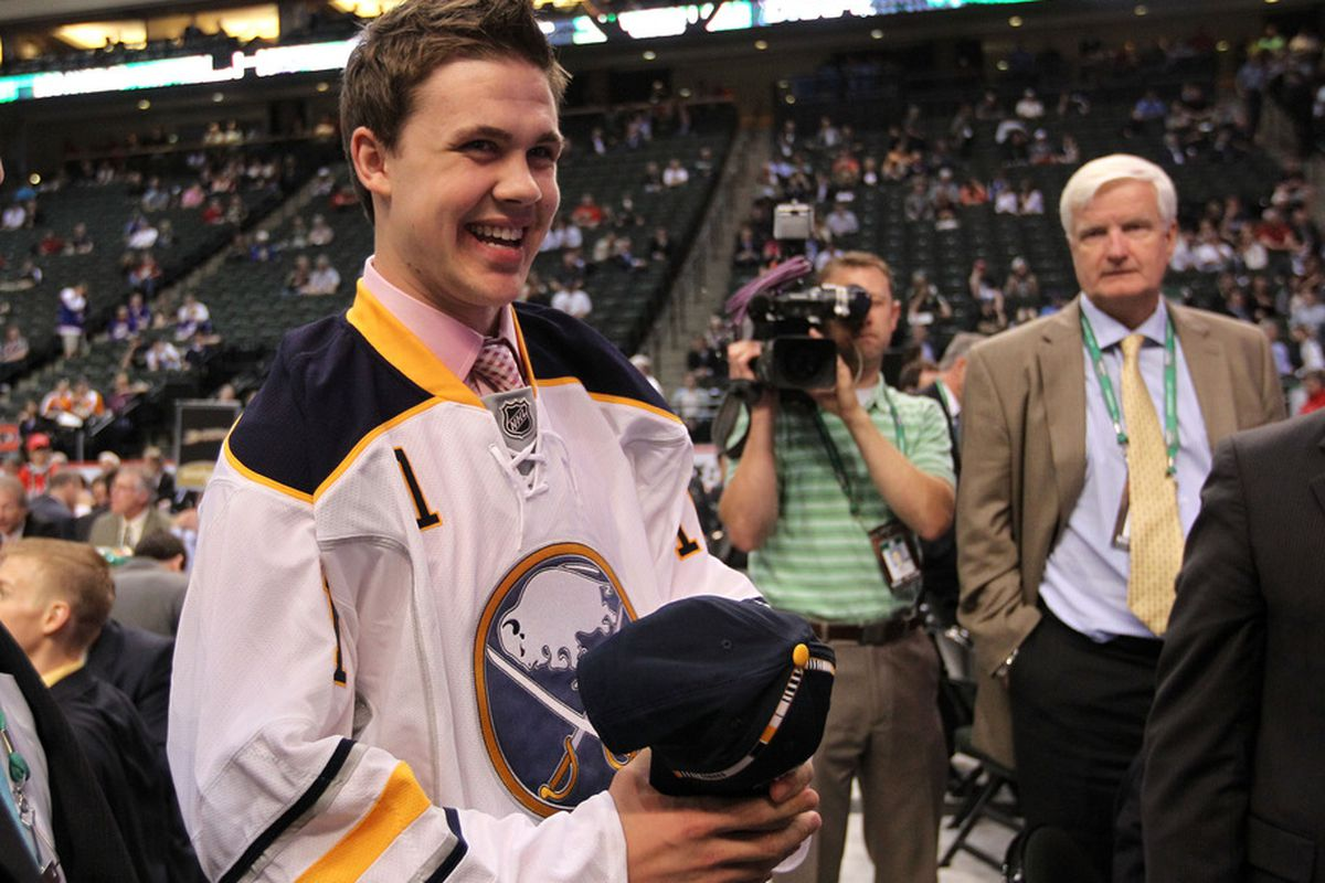 It's all smiles at Sabres development camp.
