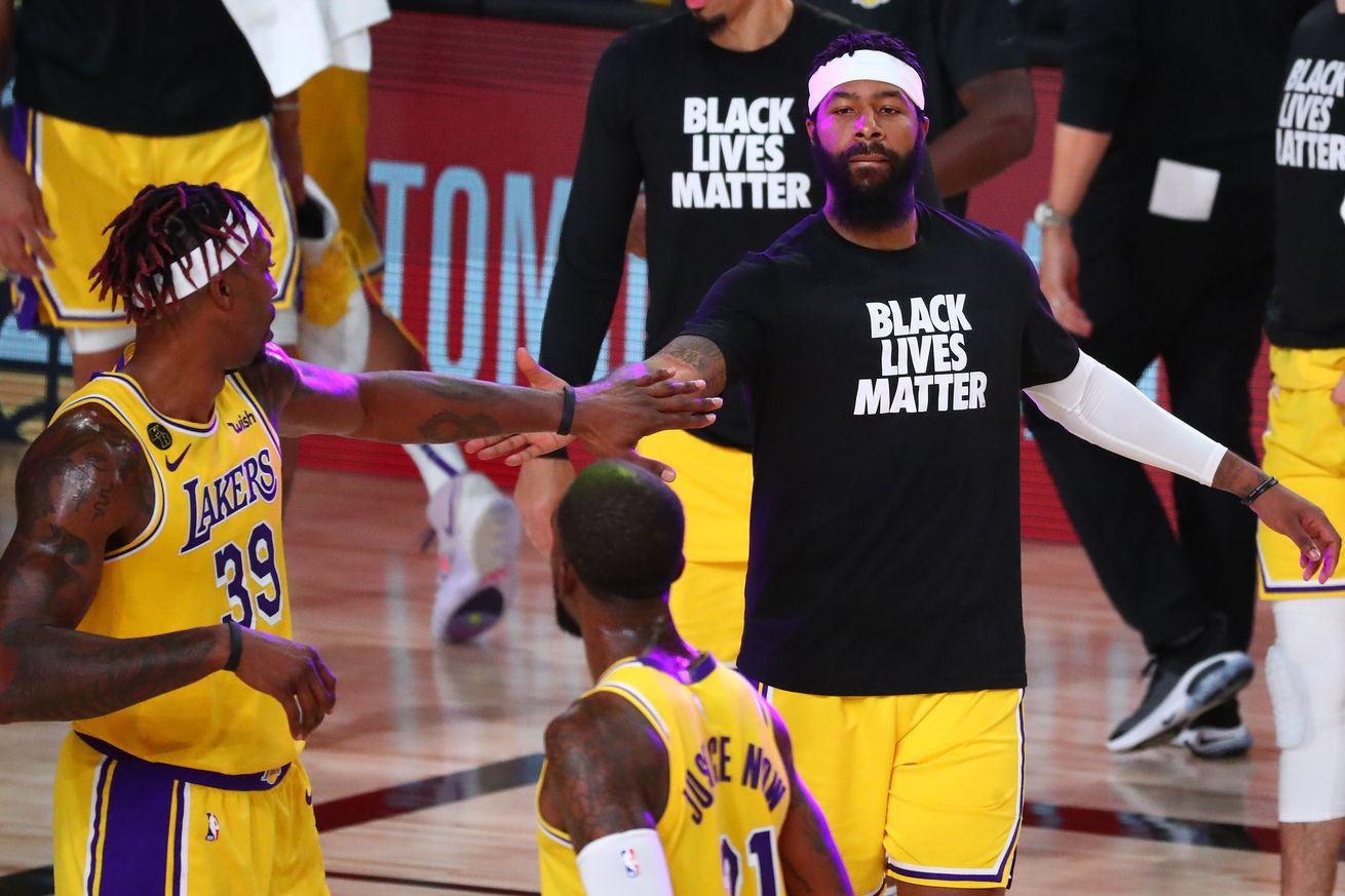 Portland Trail Blazers v Los Angeles Lakers - Game Two