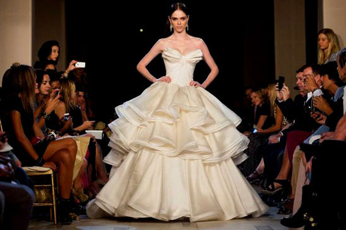 b4a7392e4ff Vera Wang Approved Zac Posen s Line for David s Bridal - Racked