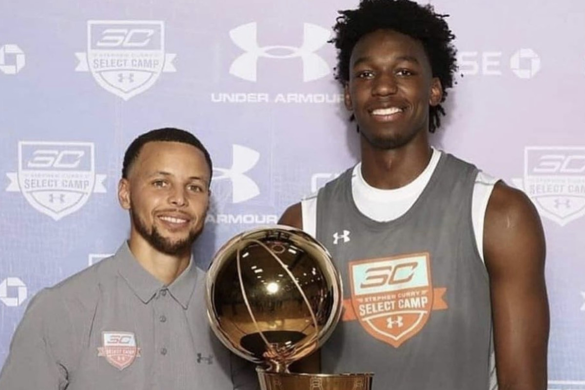 Warriors draft 2020: Steph Curry reacts to James Wiseman pick - Golden State Of Mind