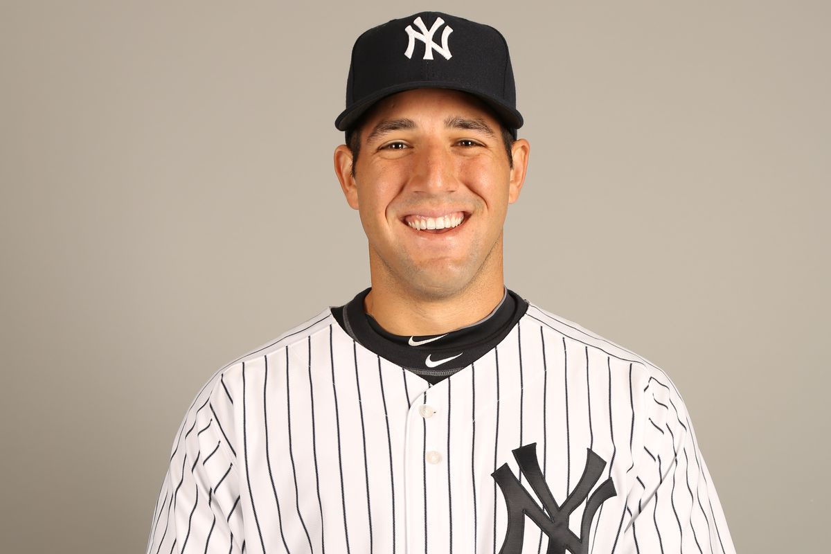 Rob Segedin, seen here during spring training in 2013, has been in the Yankees' farm system for six seasons (2010-2015).