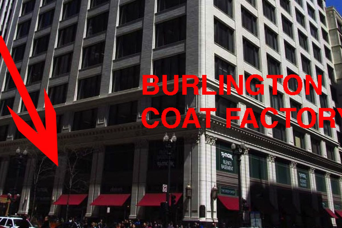 34e22fe8179 Burlington Coat Factory on State Street Opens October 5 With Brendan Reilly  and Jesse White