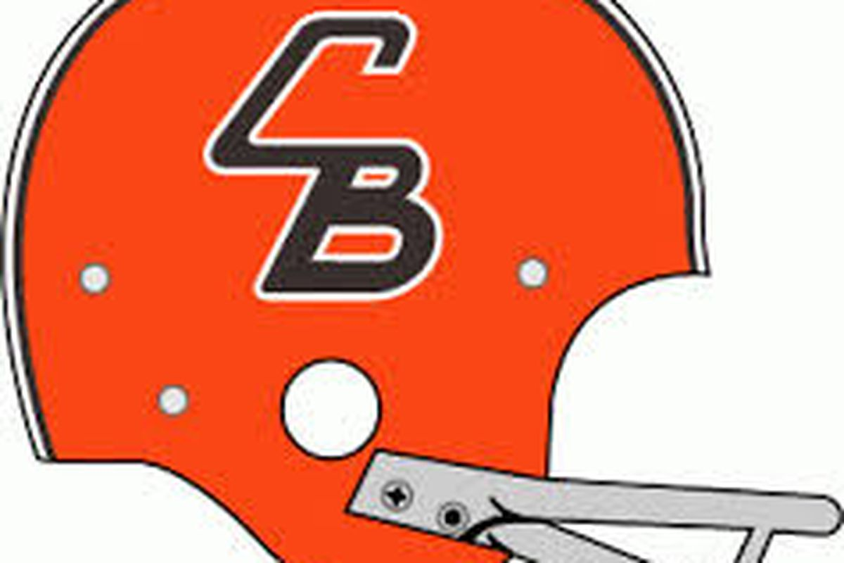 "huge selection of 7f40a a8536 The Phantom 1965 ""CB"" Helmet of the Cleveland Browns - Dawgs ..."