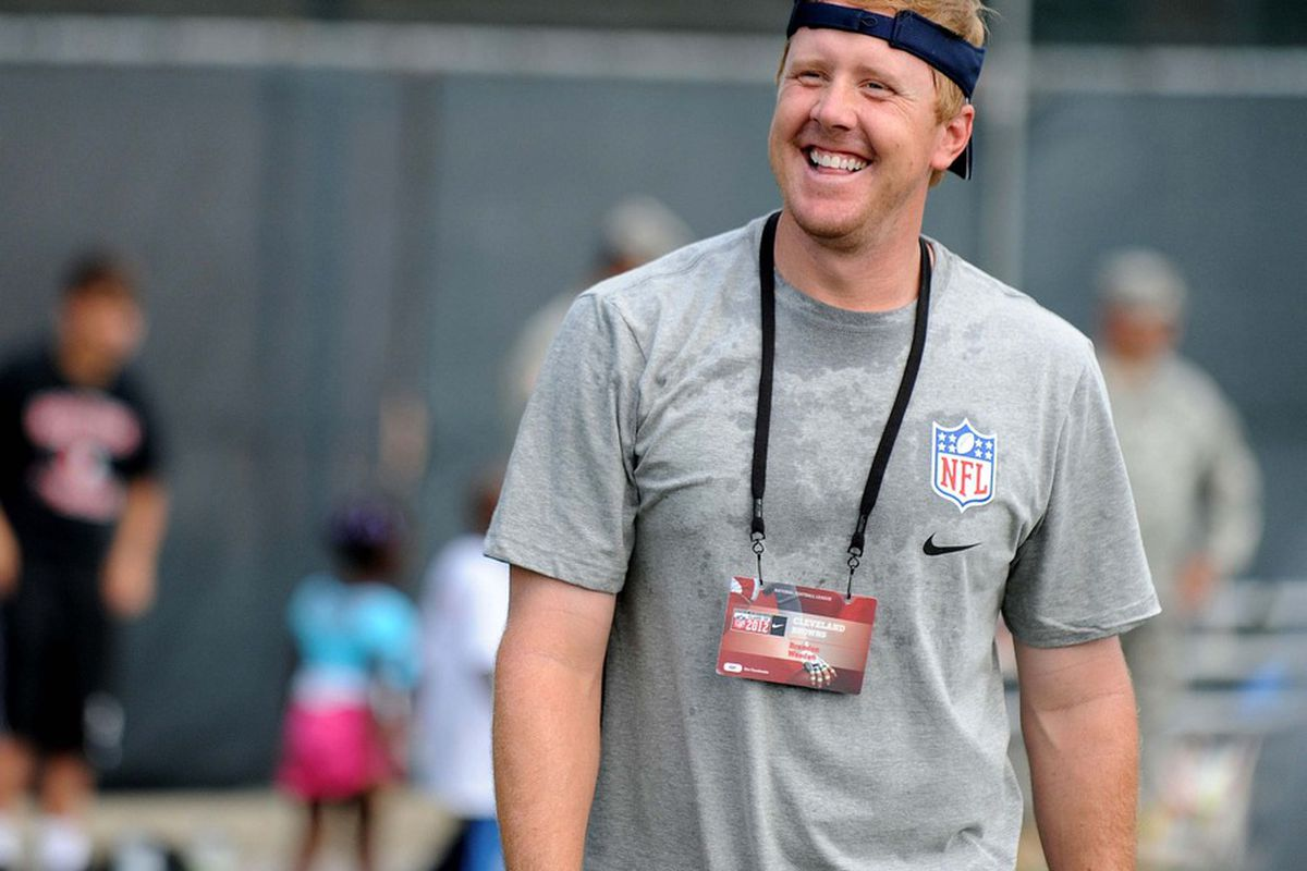When QB Brandon Weeden ended up with the Cleveland Browns in April, he certainly wasn't the first quarterback most fans had in mind after last season. With that said, the team's quarterback situation has fans excited heading into training camp.