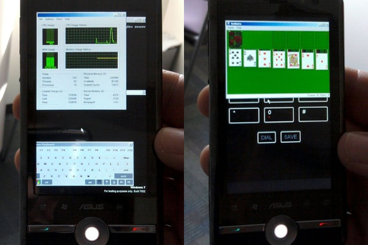 Windows 7 ARM phone