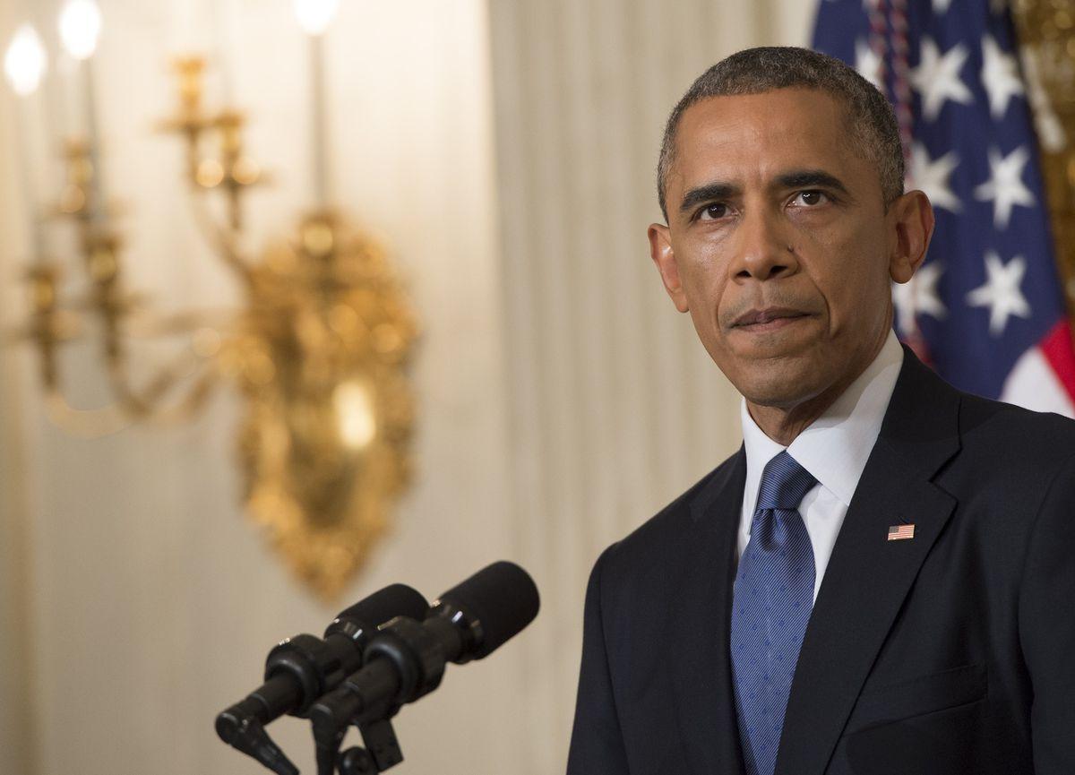 obama iraq isis SAUL LOEB/AFP/Getty