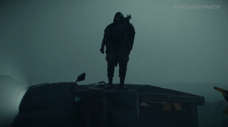 hooded figure in death stranding