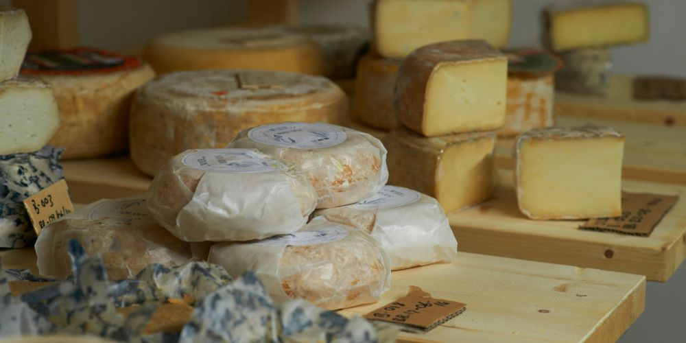 Buchanans cheese selection, one of the best places to eat cheese in London