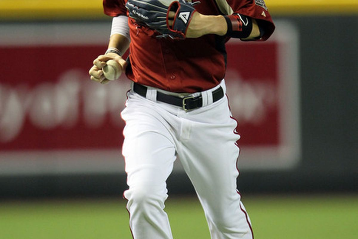 PHOENIX, AZ - JULY 10:  U.S. Futures All-Star Bryce Harper #34 of the Washington Nationals runs off the field during the 2011 XM All-Star Futures Game at Chase Field on July 10, 2011 in Phoenix, Arizona.  (Photo by Jeff Gross/Getty Images)