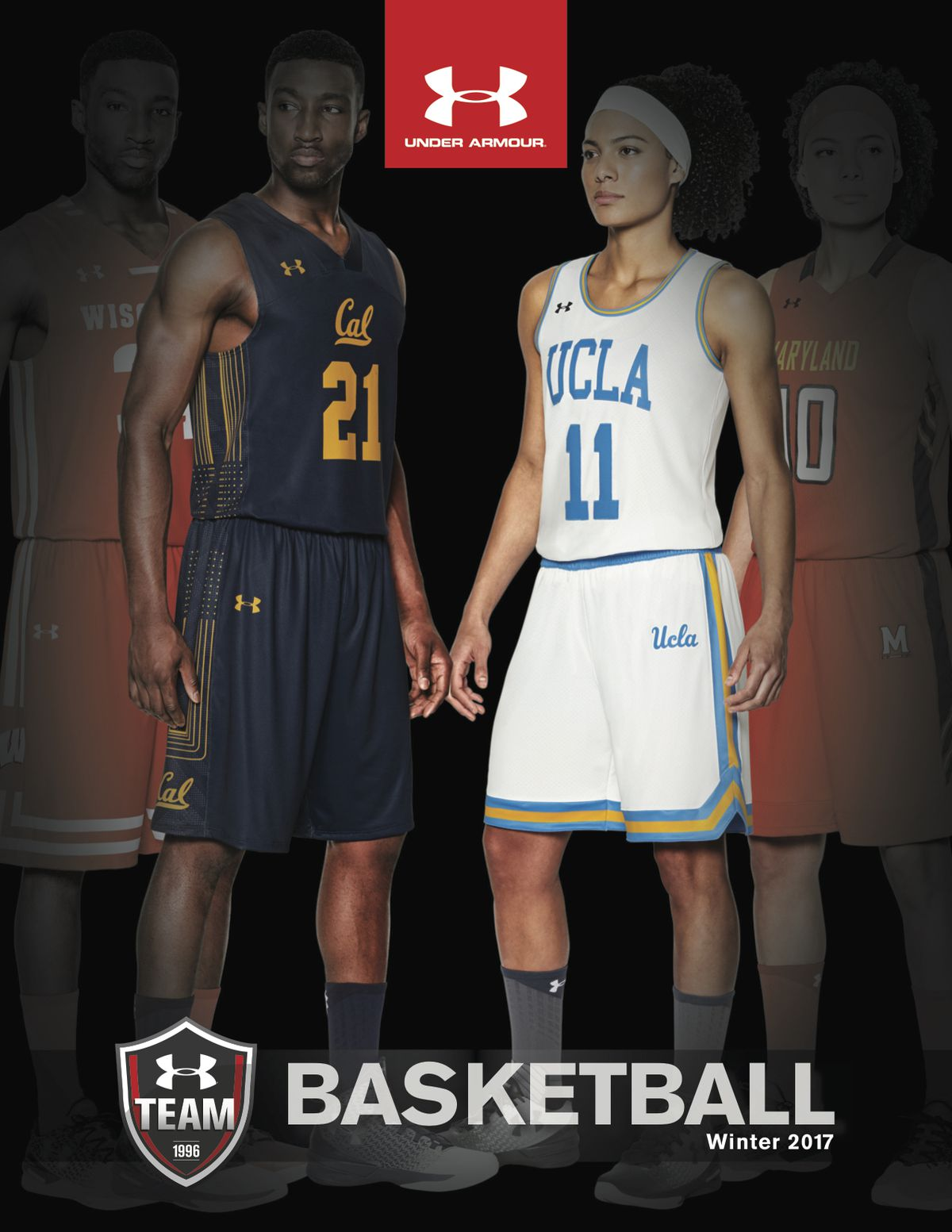 promo code 89946 6b83e Under Armour catalog features Cal basketball pictures ...