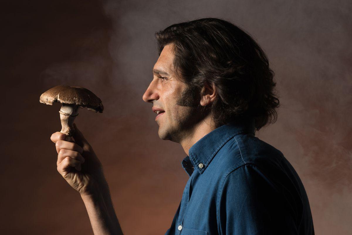 "Adam Strauss stars in ""The Mushroom Cure.""   David Allen photo"