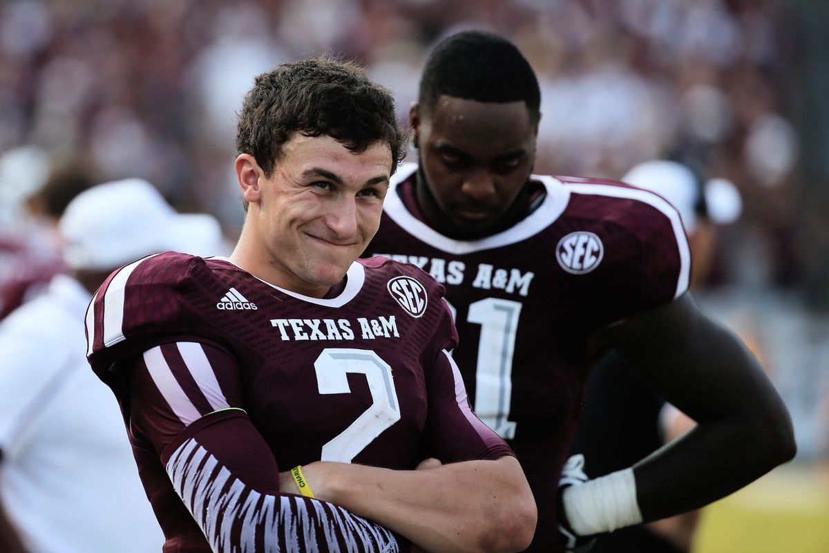 Manziel's thoughts in the waning moments of this week's game: I'm really good, but those guys from Tuscaloosa aren't too bad.