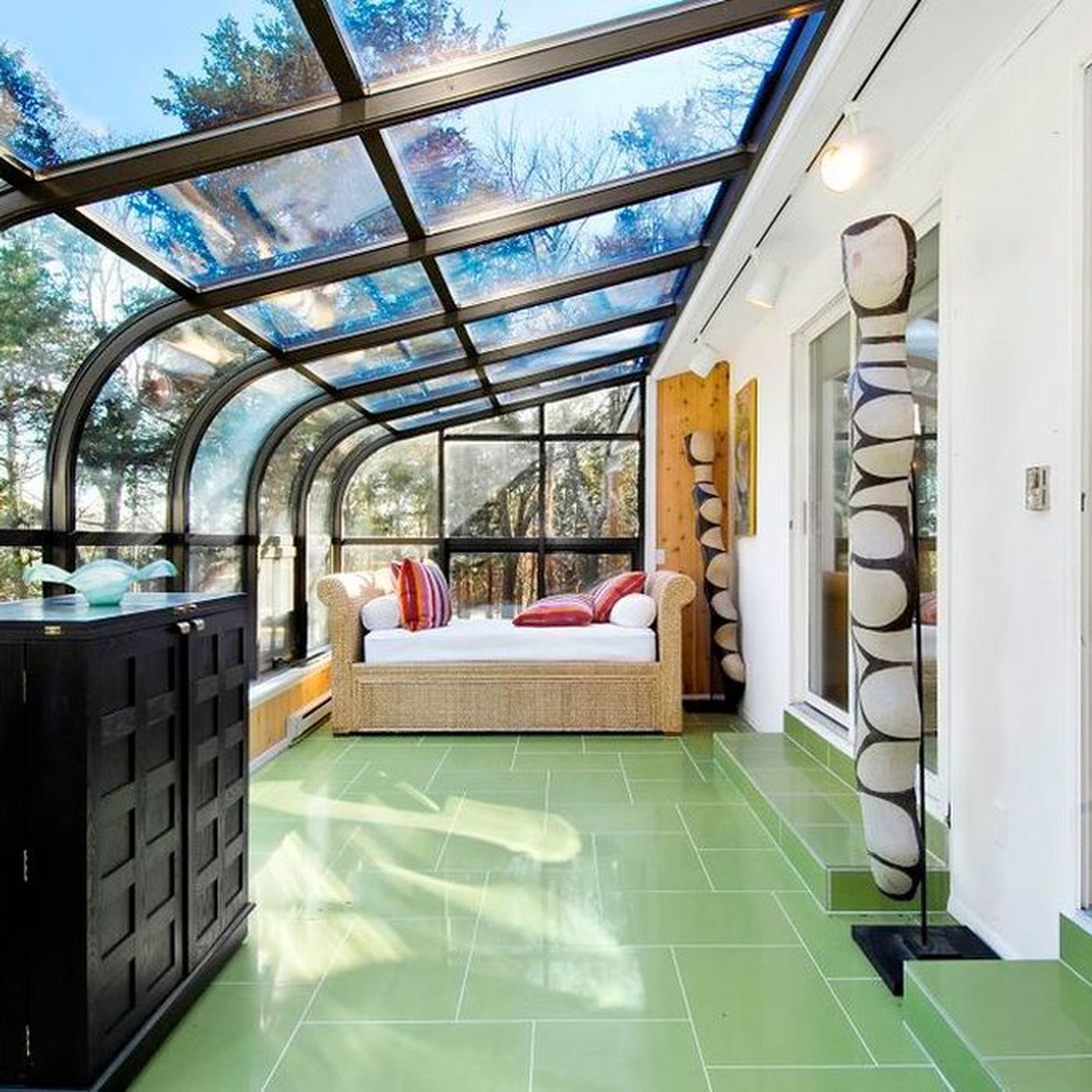 An Attached Greenhouse
