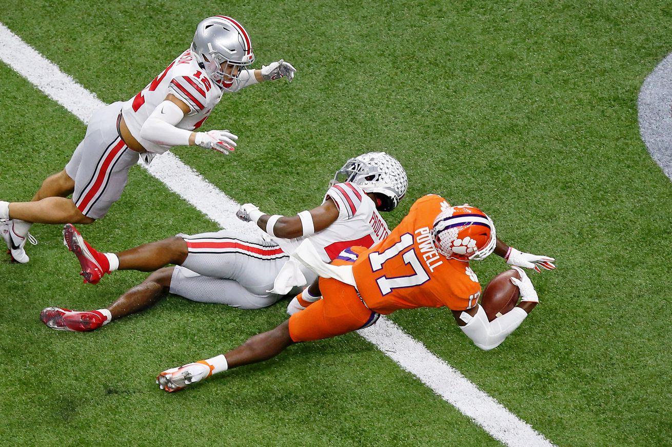 NCAA Football: Sugar Bowl-Ohio State vs Clemson