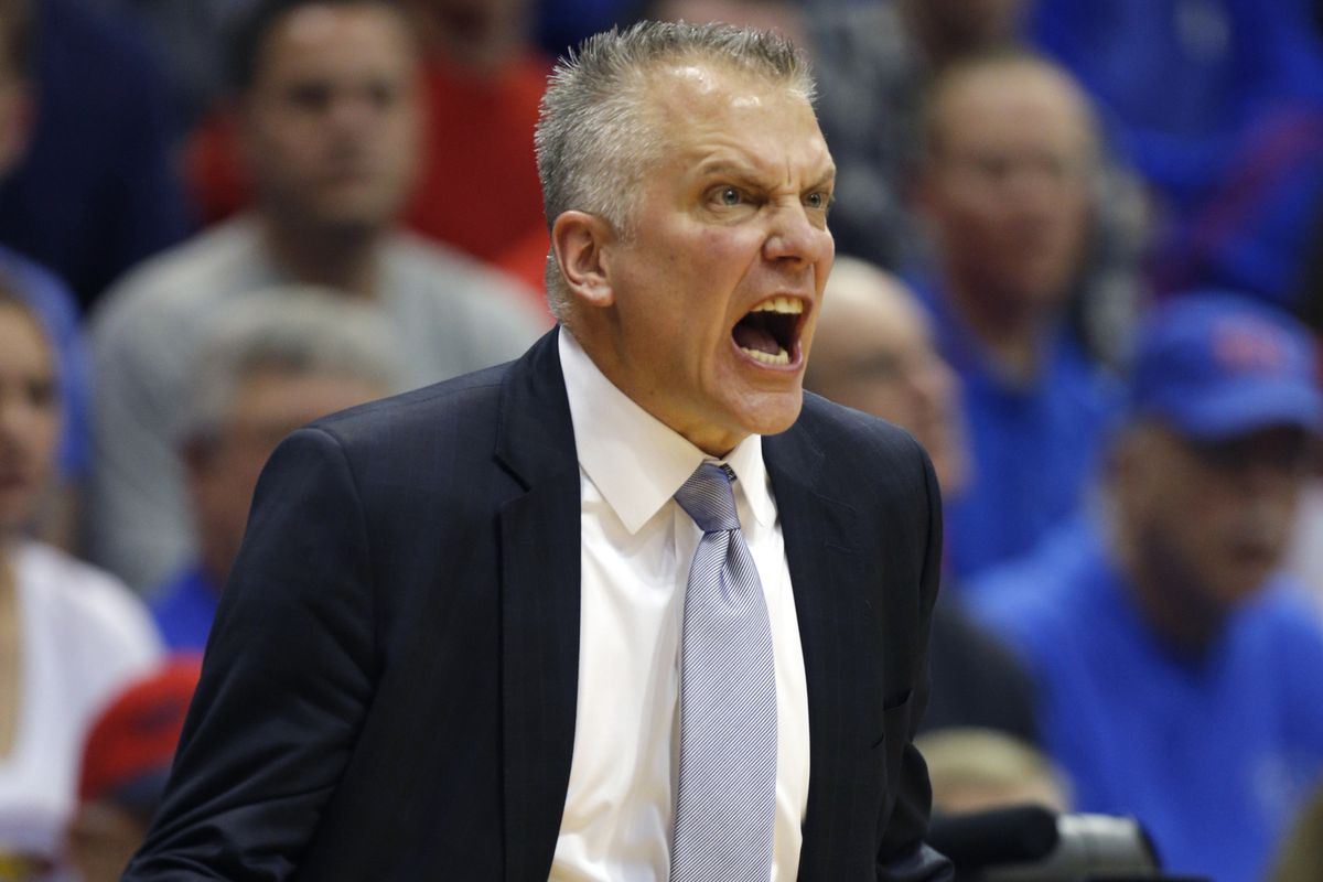 Toledo coach Tod Kowalcyzk may look a little mad here, but he's got to be happy with his team's 12-1 start.