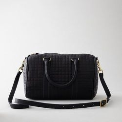 The Quilted Duffel Petite, $632 Photos: Courtesy of Steven Alan