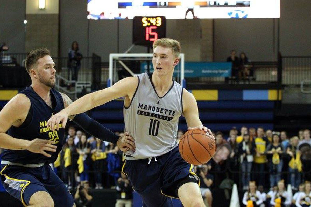 2016-17 Marquette Men's Basketball Player Preview: #10 Sam Hauser