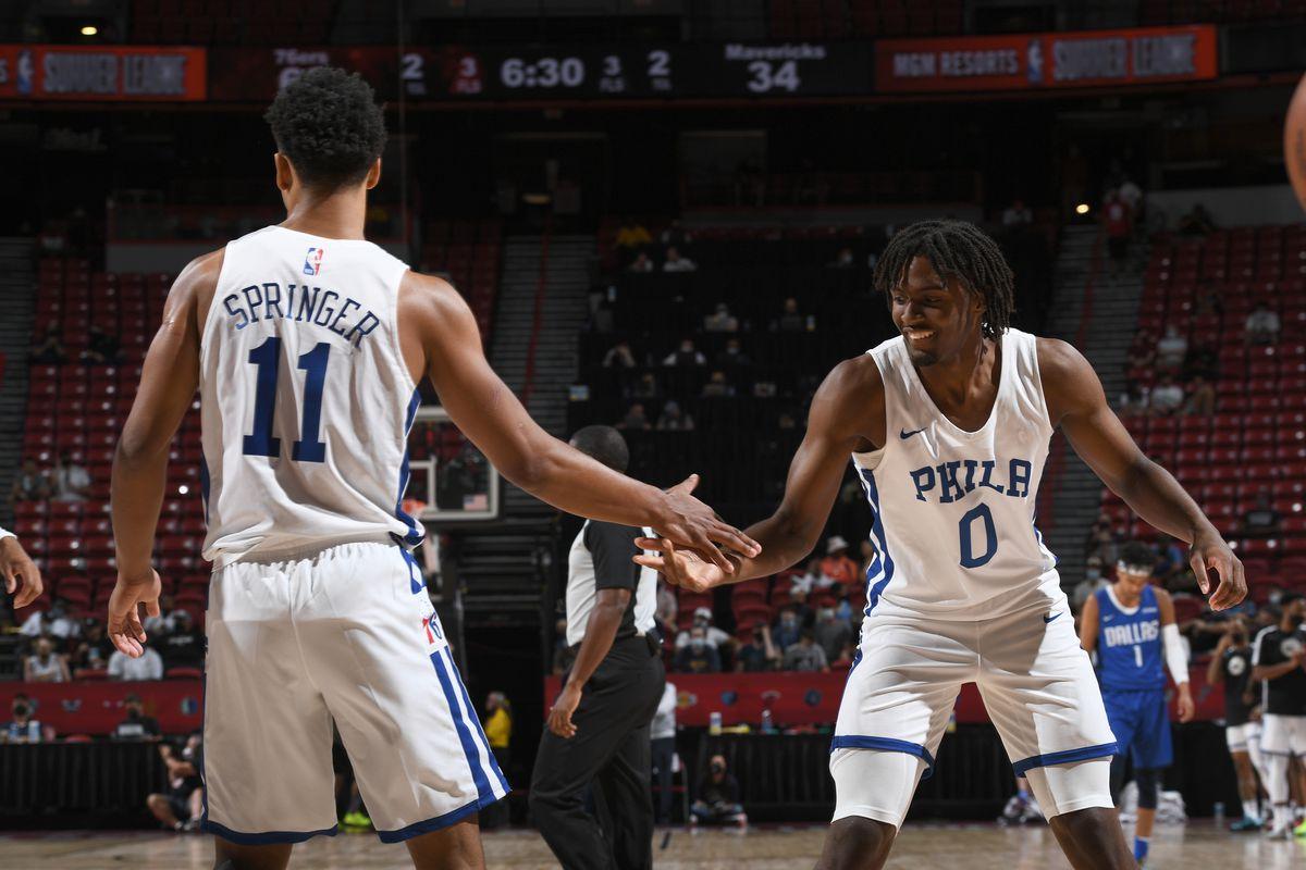 2021 Las Vegas Summer League - Dallas Mavericks v Philadelphia 76ers