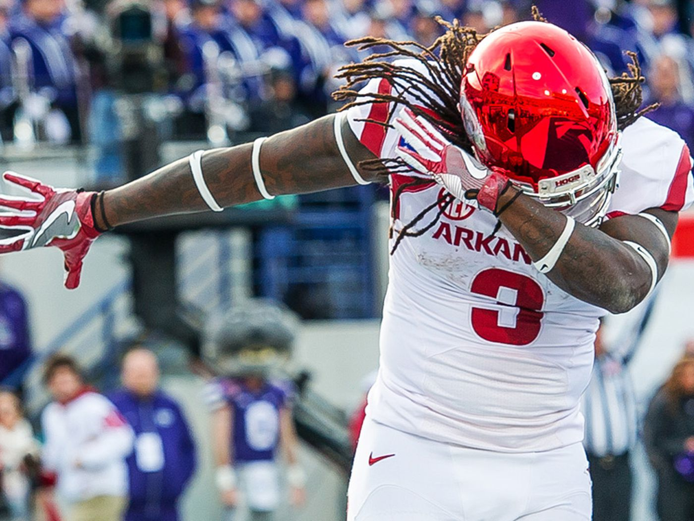 For Once, Alex Collins Did What Everybody Expected - Arkansas Fight