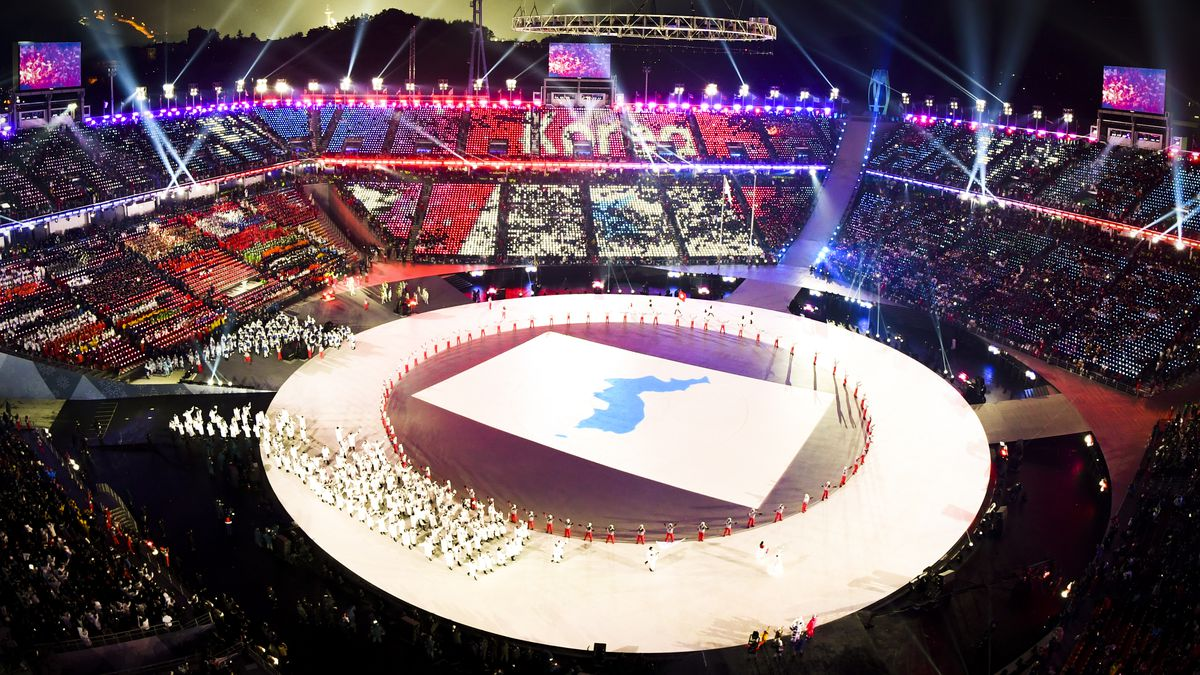 Image result for winter olympic opening ceremony 2018