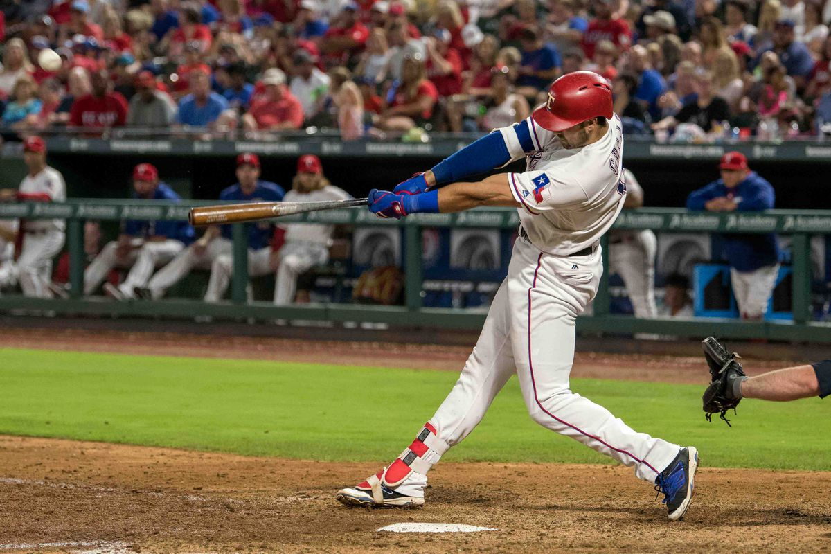 Joey Gallo batting eighth for Rangers on Wednesday