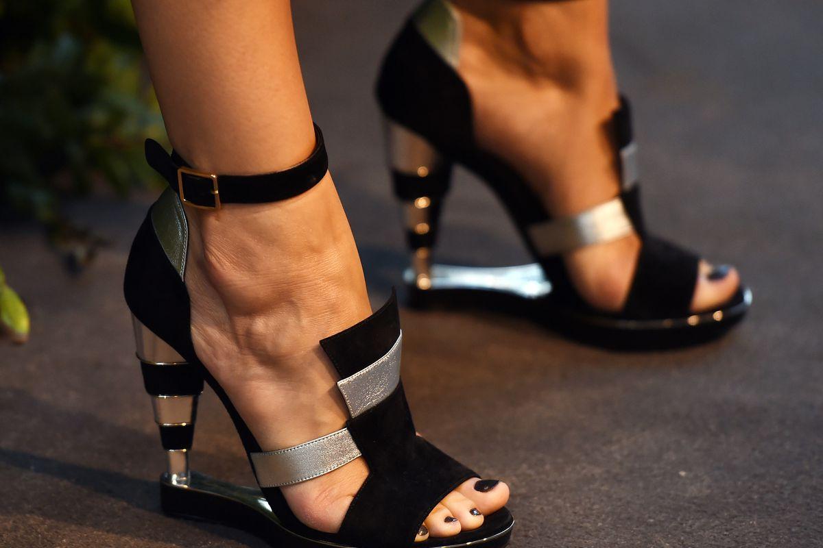 The footwear at a Ferragamo event. Photo: Amanda Edwards