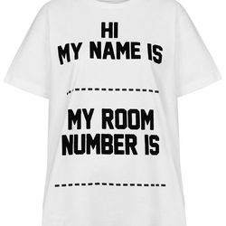 "Tee, <a href=""http://us.topshop.com/en/tsus/product/clothing-70483/ashish-x-topshop-3008724/hi-my-name-is-tee-by-ashish-x-topshop-2991340?bi=1&ps=20"">$80</a>"