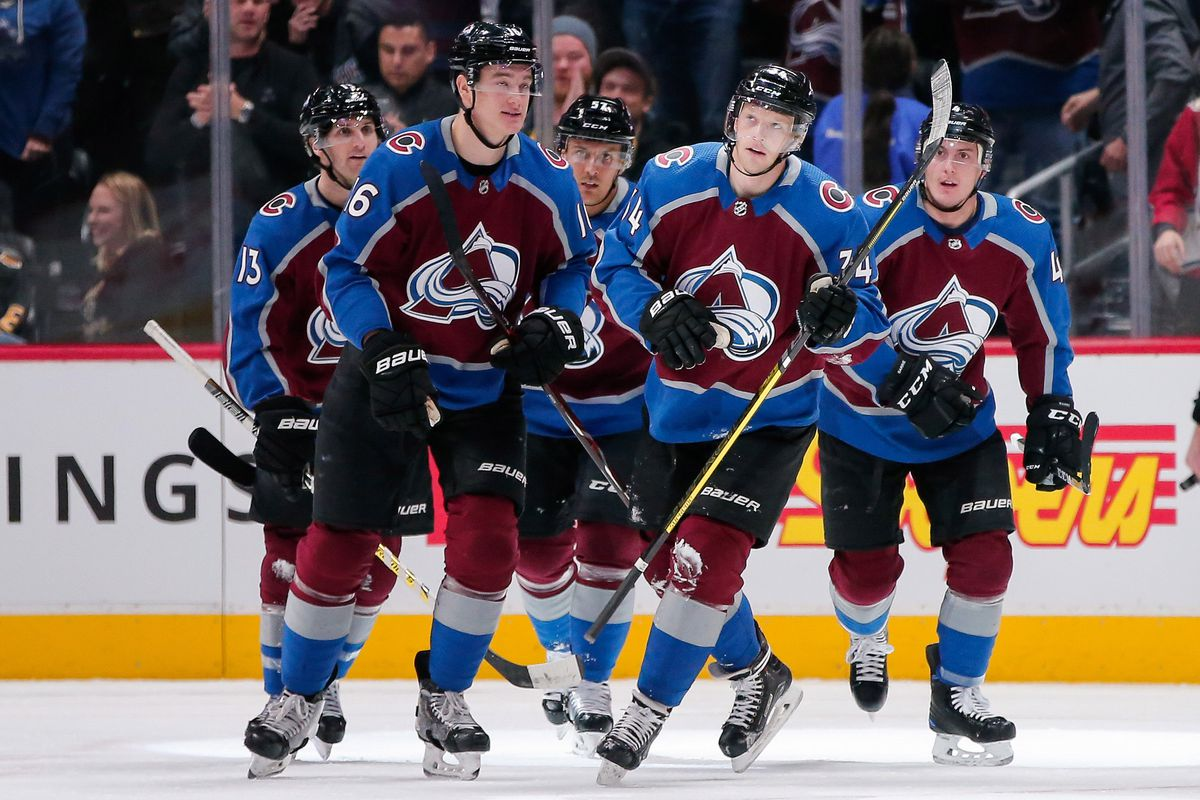 Colorado Avalanche Score Seven In Landslide Win Over La Kings Mile