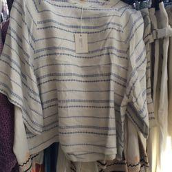Boxy blouse, size 0
