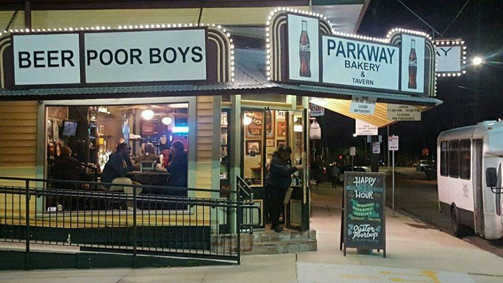 Parkway po boys is throwing a party in honor of a very for Parkway new orleans