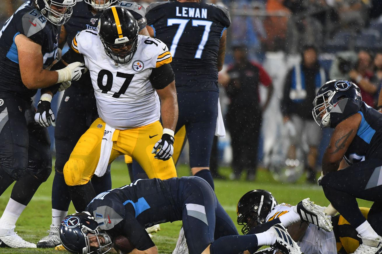 NFL: Preseason-Pittsburgh Steelers at Tennessee Titans