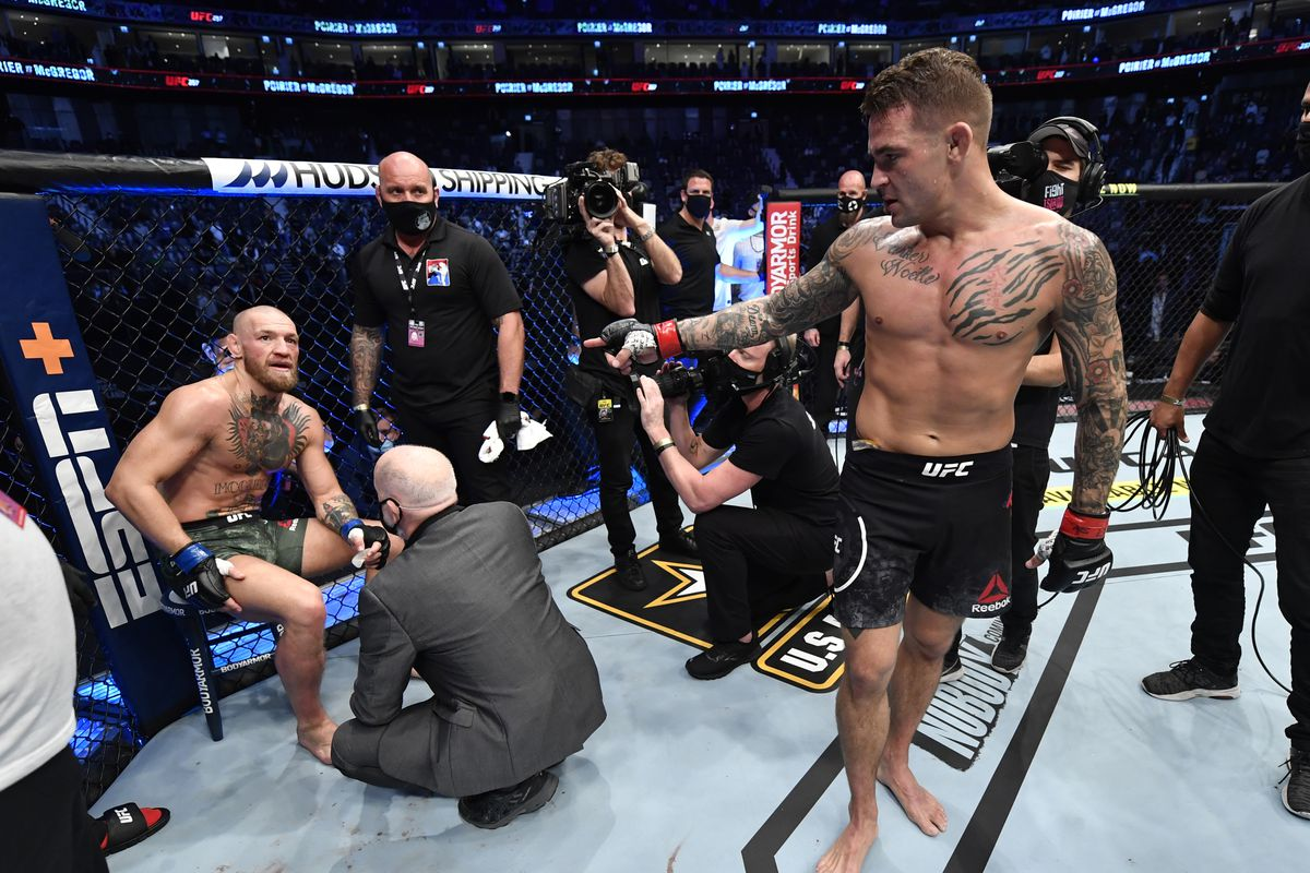 Making the Grade: UFC 257: Poirier vs. McGregor 2 - MMA Fighting