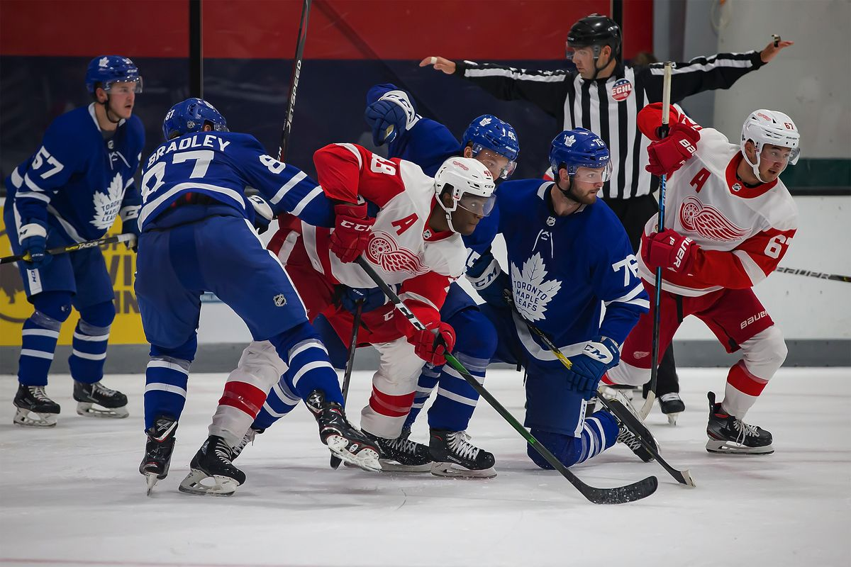 NHL Prospects Tournament Day-4 Detroit vs Toronto