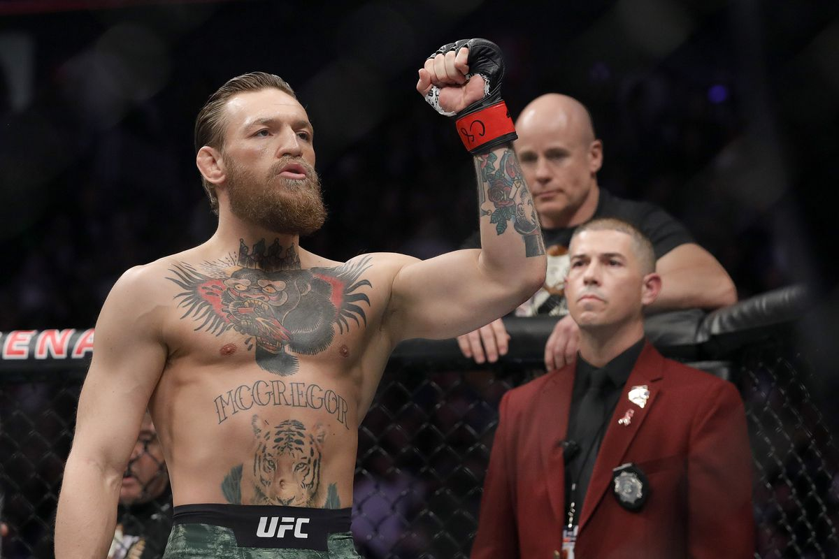 Pic: Conor McGregor looks like a world-beater ahead of UFC 257 main event - MMAmania.com