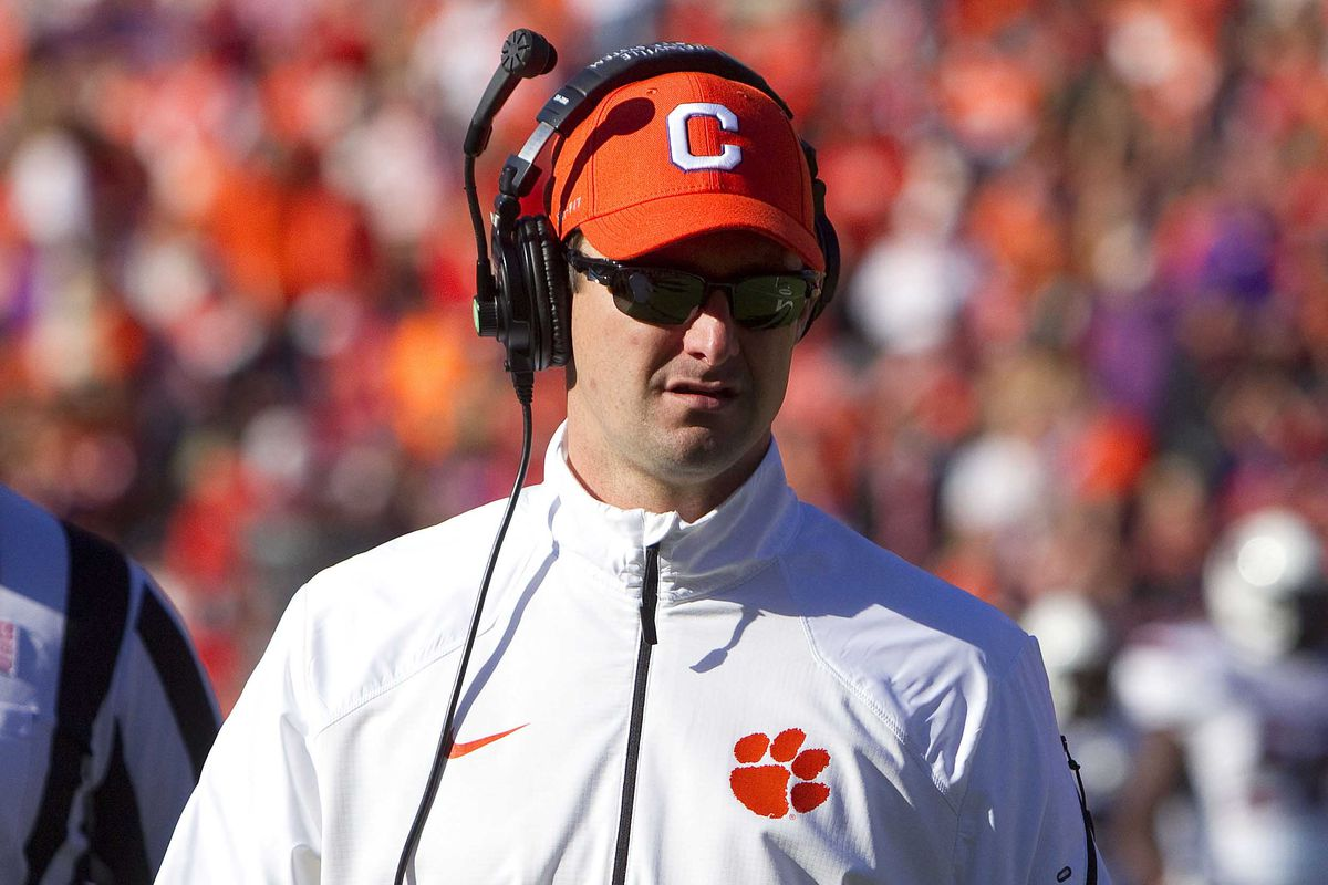 2016 Clemson Football Season Preview Offensive Coaching Staff Shakin The Southland