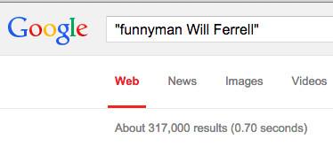 funnyman will ferrell