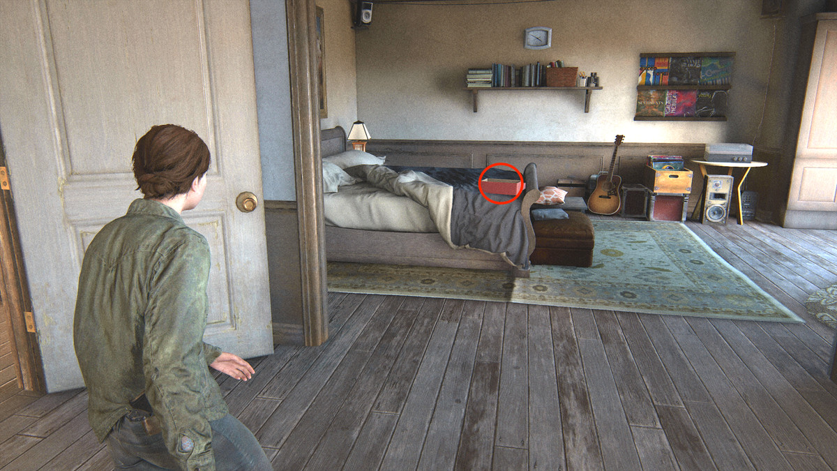 The Last of Us Part 2 Jackson Packing Up trading card and artifact collectible guide Joel's Watch